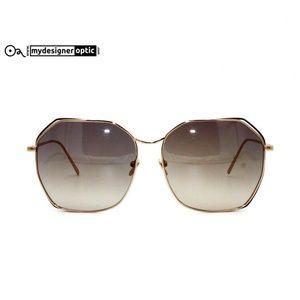Linda Farrow Sunglasses LFL/350/3 62-15-145 Made i